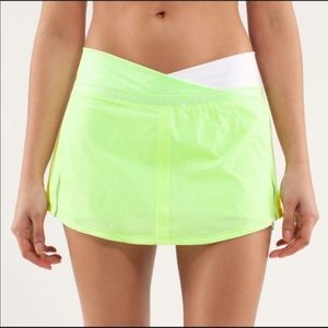 Lululemon tennis golf skort